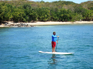 Surf's Up! Paddle Boarding Craze Comes to Bolongo