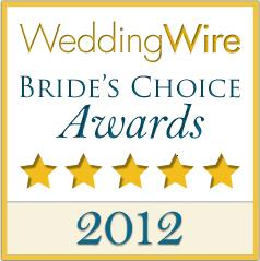Bolongo Bay Beach Resort is awarded the Bride's Choice Award 2012