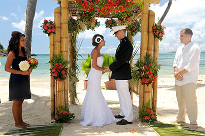Sandy Beaches Destination Wedding Image 1