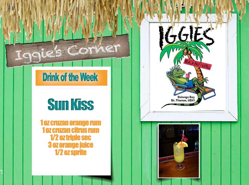 Iggie's Corner presents Drink of the Week: Sun Kiss
