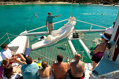 Sailing The Virgin Islands On The Heavenly Days