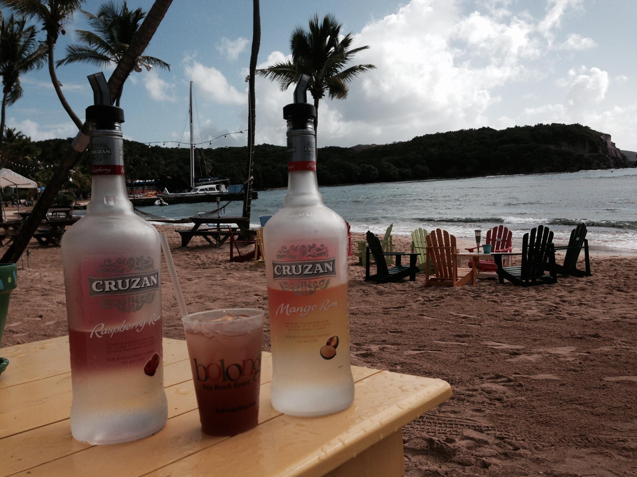 Iggie's Corner presents the Drink of the Week: Raspberry Mango Bay Breeze.