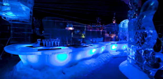 Magic Ice is a unique ice sculpture attraction and experience in the USVI