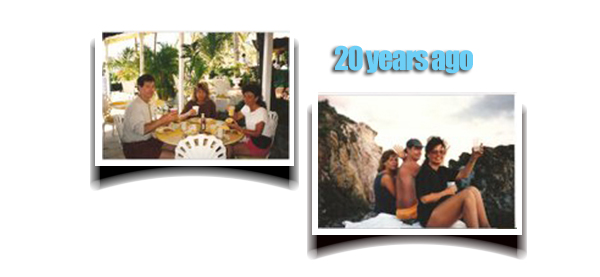 Jim & Linda Feltzer visited Bolongo 20 years ago for the first time