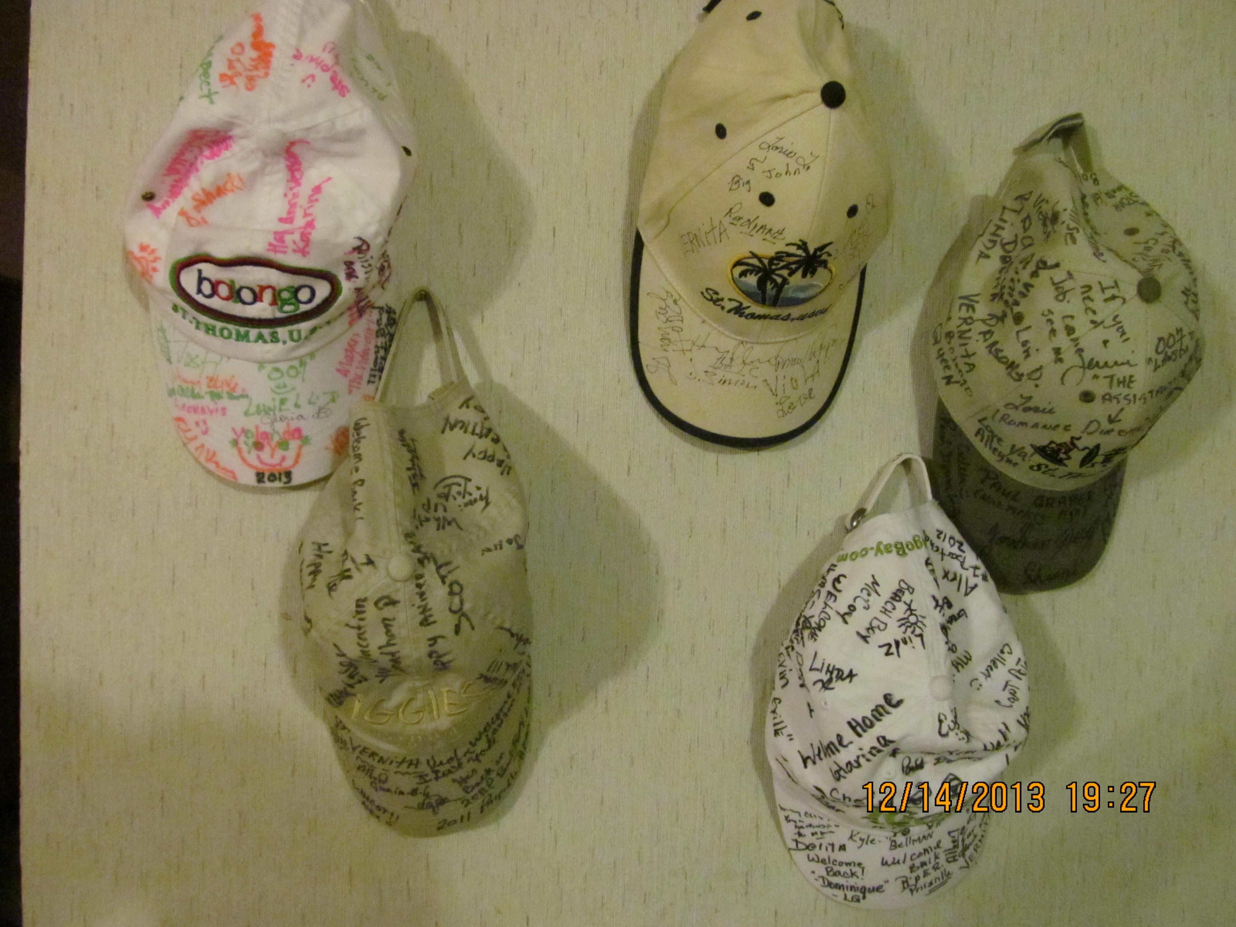 Bruce Kimball hats
