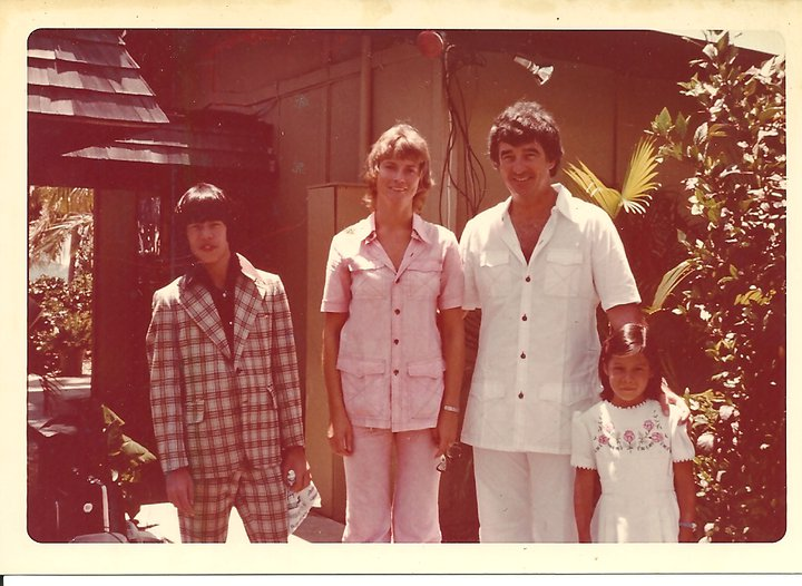Bolongo 70's with Greg Lao Joyce & Dick Doumeng and Belinda Lao