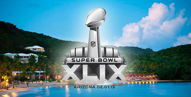 2015 Super Bowl Beach Tailgate Party at Bolongo Bay Beach Resort
