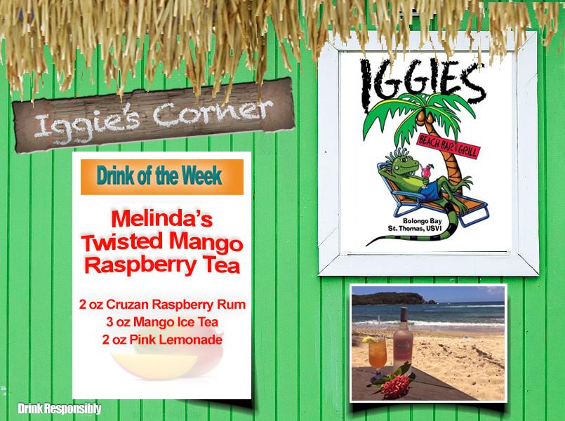 Melinda's rasberry tea