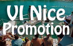 """Fall Travel Just Got A Lot Nicer With The """"VI Nice"""" Promotion Compliments Of The US Virgin Islands Department Of Tourism."""