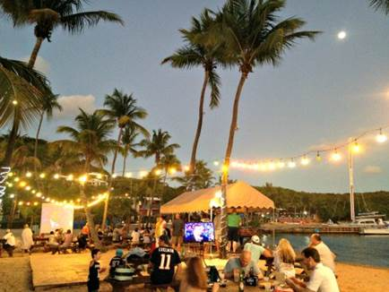 Kick Off February with a Super Bowl 50 Beach Tailgate Party at Bolongo Bay Beach Resort
