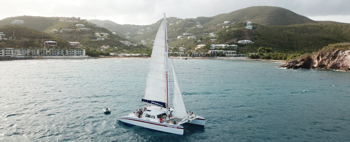 Sail on Heavenly Days Catamaran
