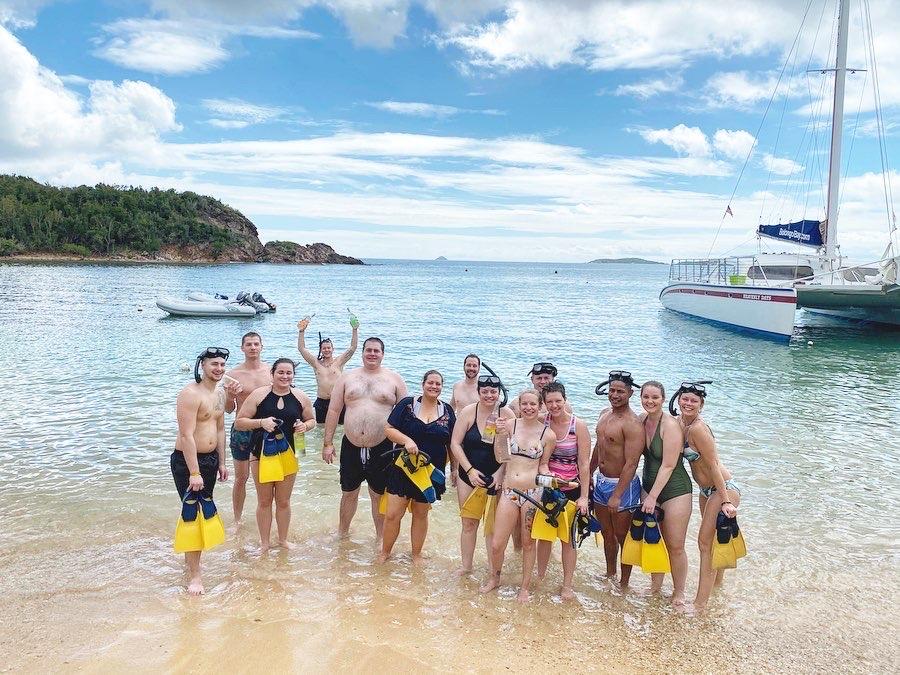 Private Snorkel Booze Hunt