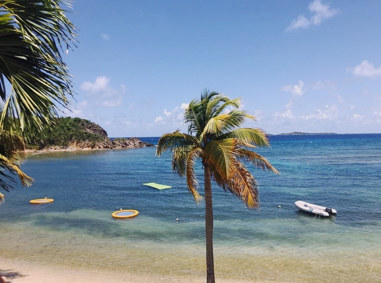 U.S. Virgin Islands and Bolongo Bay are open to tourism again!
